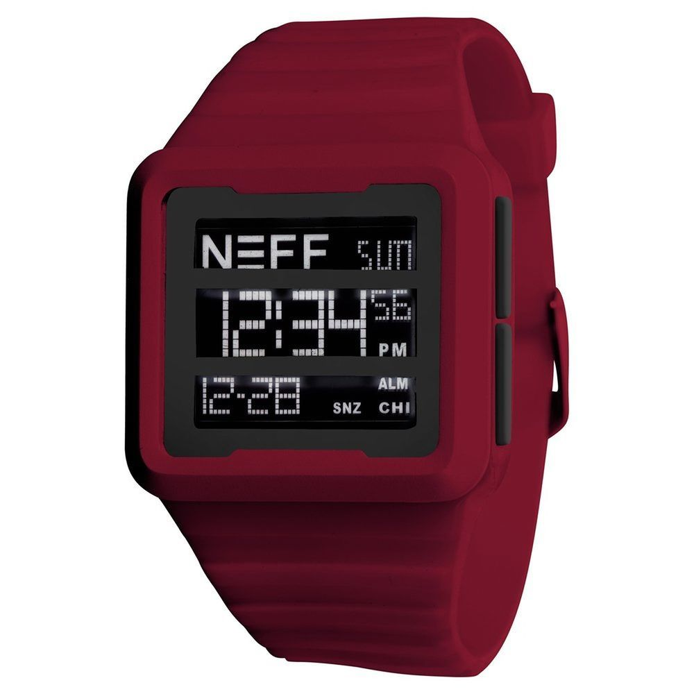 Neff #Odessy #DigitalWatch Silicone Rubber Adjustable Band Water Resistant  #Neff #Fashion