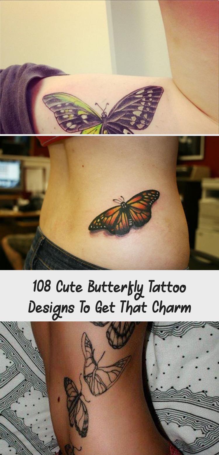 Photo of 108 niedliche Schmetterlings-Tätowierungs-Entwürfe, zum dieses Charmes zu erhalten – Tätowierungen
