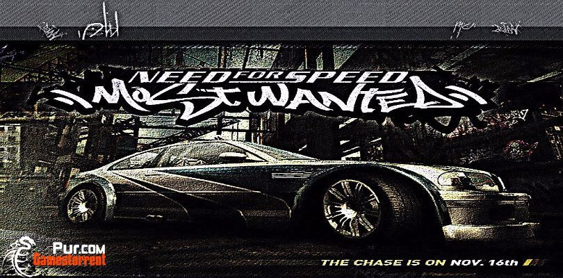 Need for speed: most wanted black edition [игры для pc 2005.