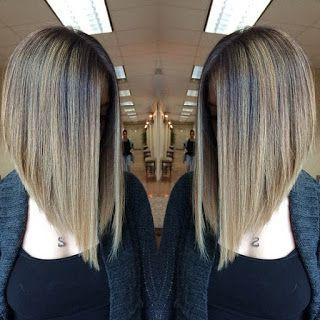 Corte de pelo largo video