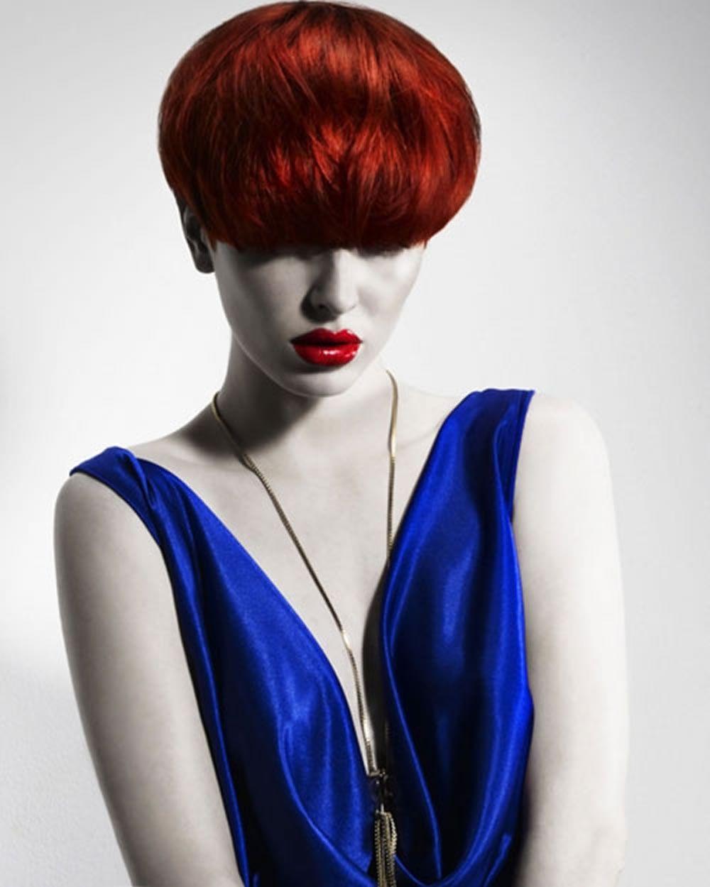 Kurze haarfarbe bilder frisuren fur frauen pinterest hair red