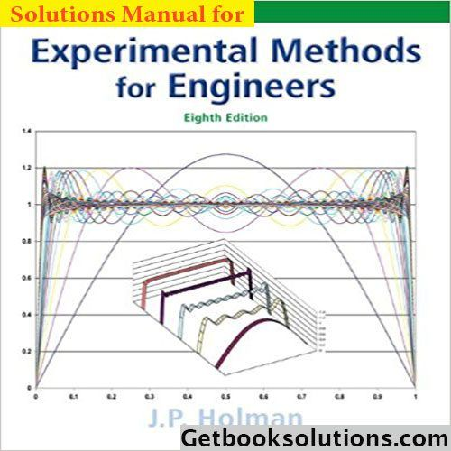 solution manual for experimental methods for engineers 8th edition
