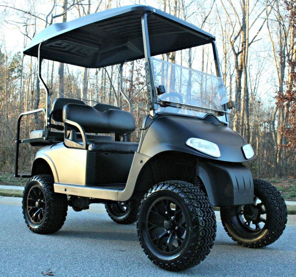 14 Matte Black None No Edge With Matching Cap On Golf Car Golf Car Golf Carts Golf