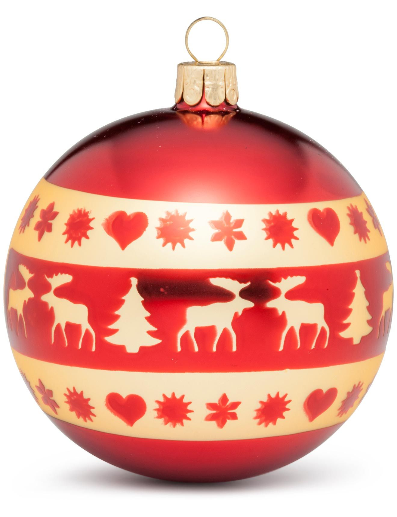 Christmas Shop Nordic Icons Ornament 8Cm Bauble At David Jones