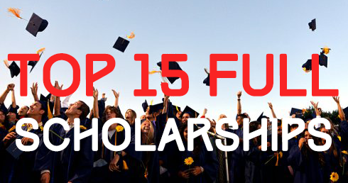 Top 15 Full Scholarships* for International Students ...