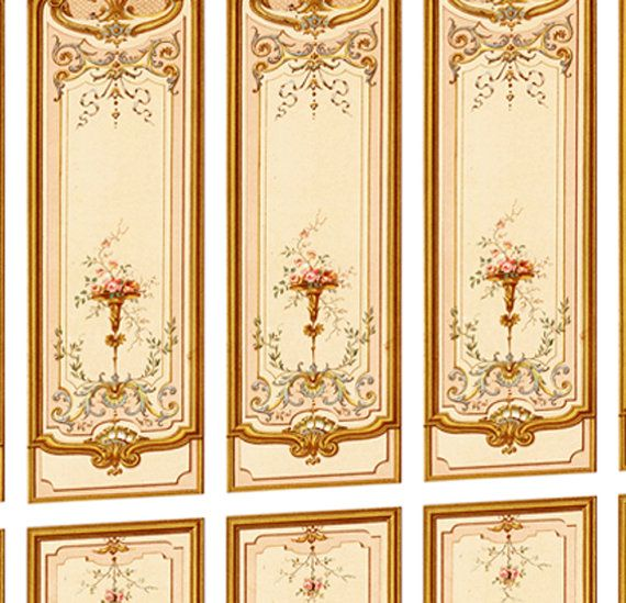 Download Victorian Dolls House Wallpaper Gallery: Victorian Wall Panels Wallpaper 1 12th Or 1 By
