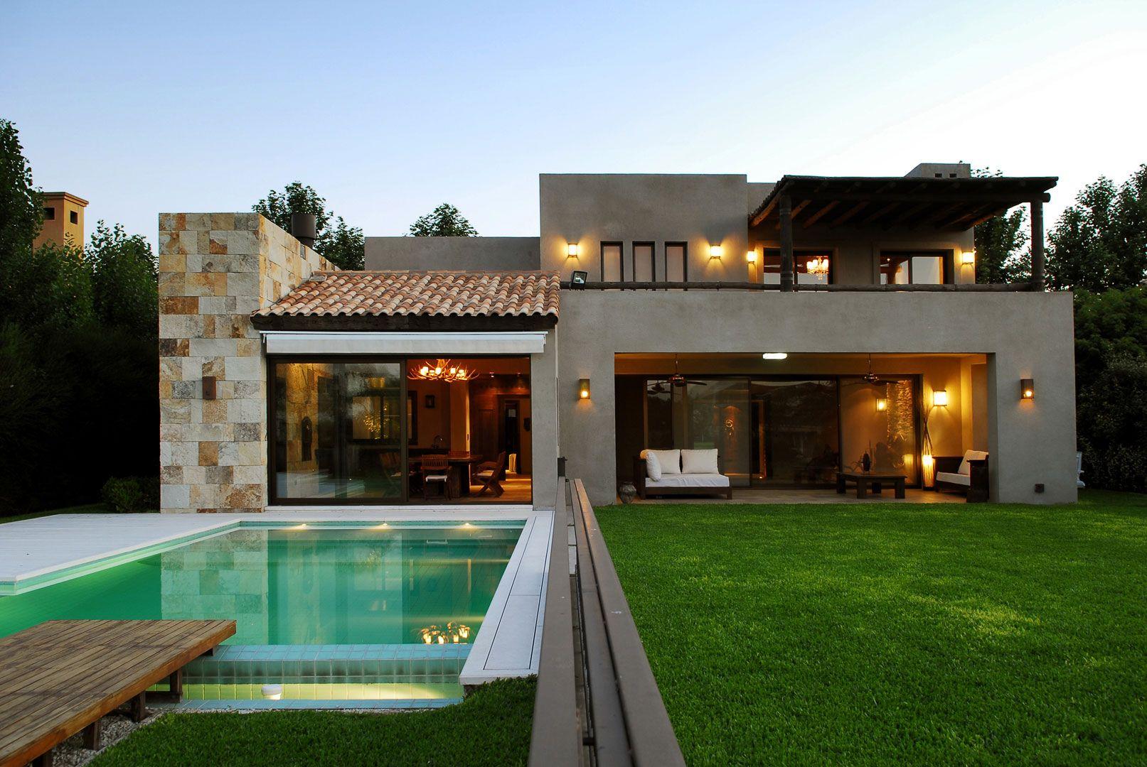 Estudio gamboa casa fgr casas campestres casas casas for Diseno de piscinas para casas de campo