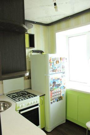 Ремонт и дизайн маленькой угловой кухни 5 кв.м. (29 фото ...