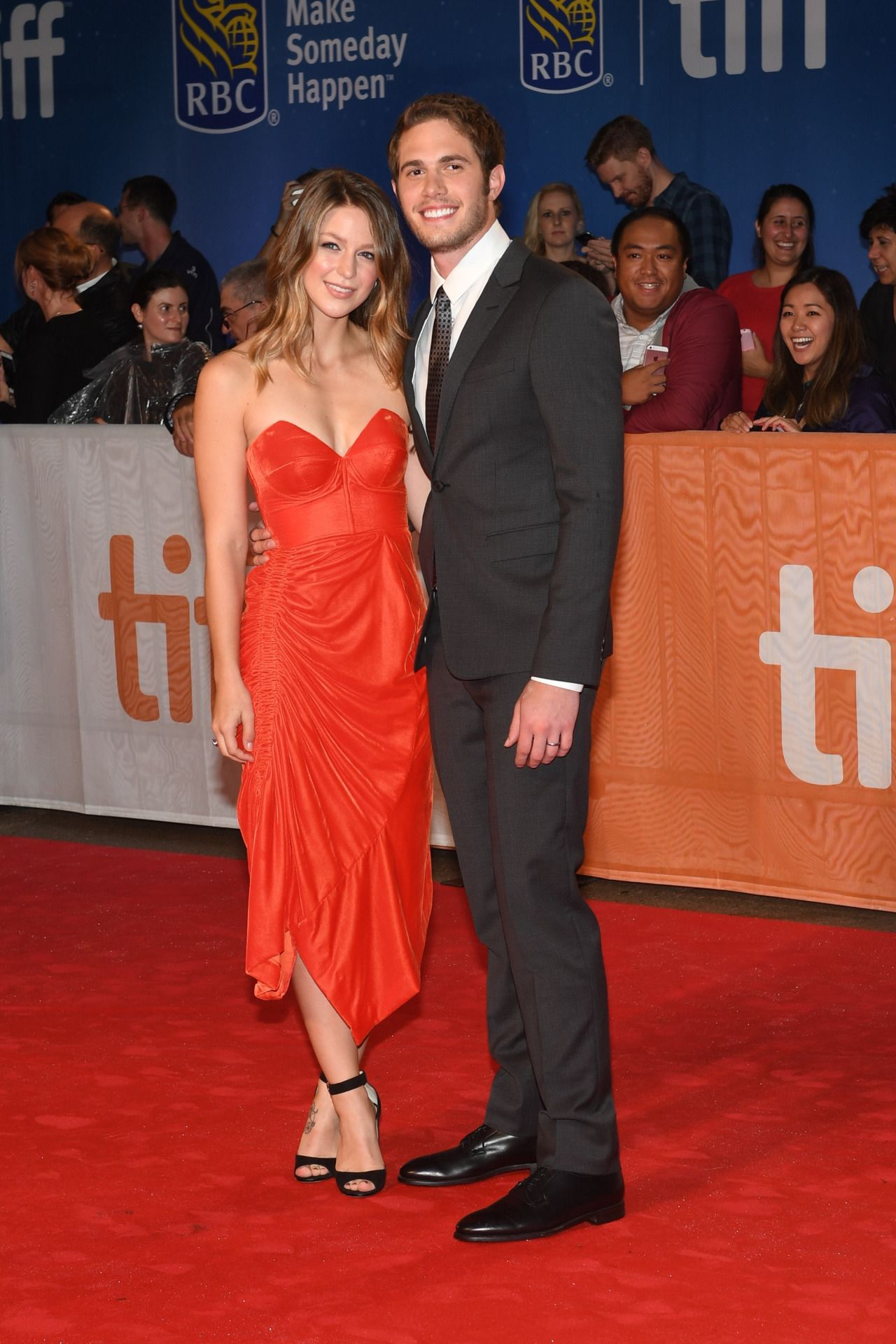 Melissa Benoist And Blake Jenner Attend The Edge Of Seventeen Premiere During