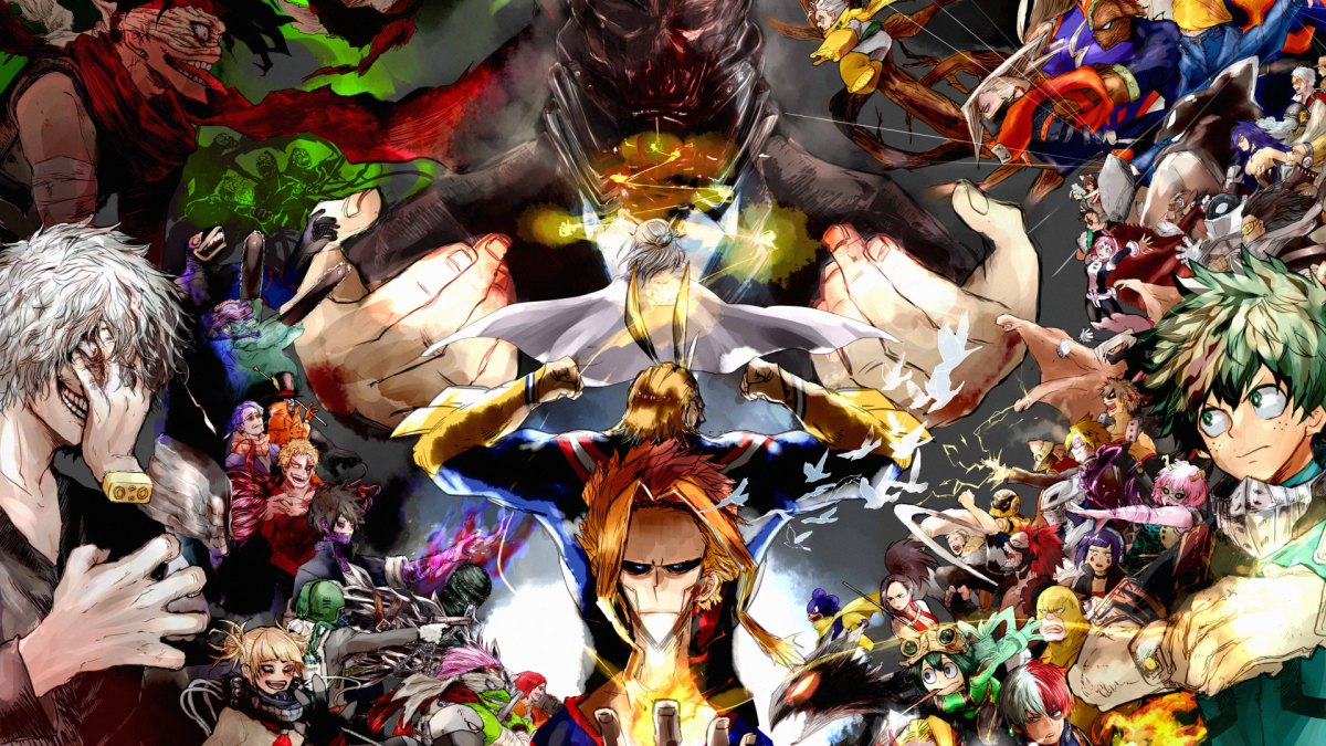 A brand new my hero academia wallpaper background new tab extension, get a cool new my hero academia wallpaper every time you open a new. Boku No Hero Academia La Relève Des Supers Héros   Hero ...