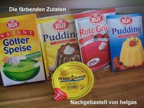 Papageienkuchen (altes DDR-Rezept) #cookiesandcreamcake