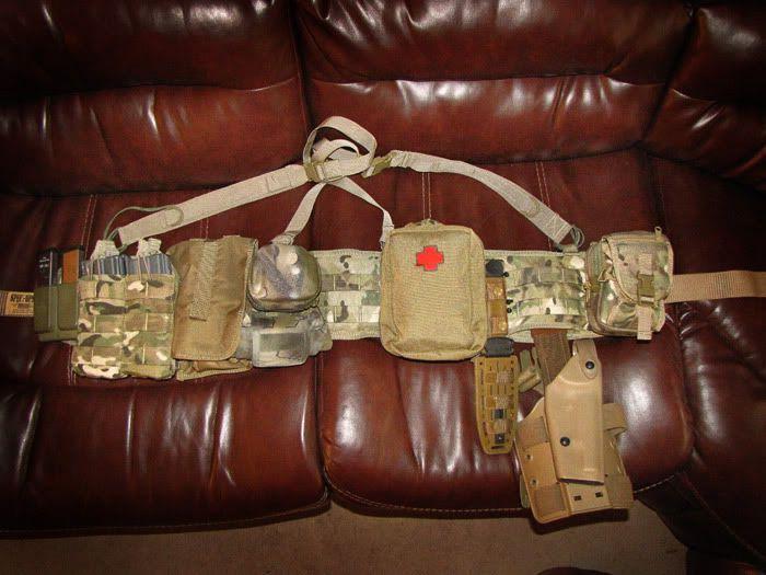 condor battle belt setup - Google Search | Weapons, Gear ...