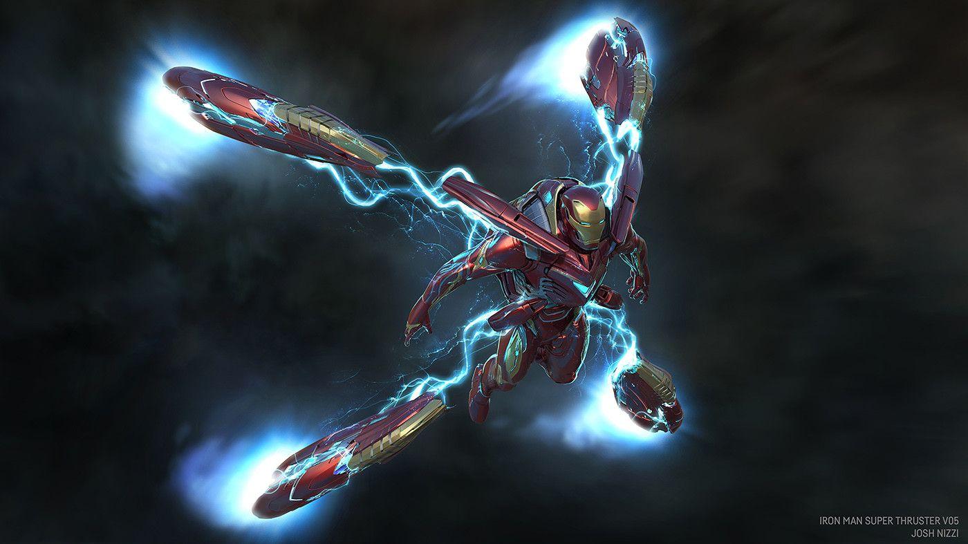 Artstation Super Booster Iron Man Concepts Infinity War Josh Nizzi Iron Man Armor Iron Man Fan Art Iron Man Art