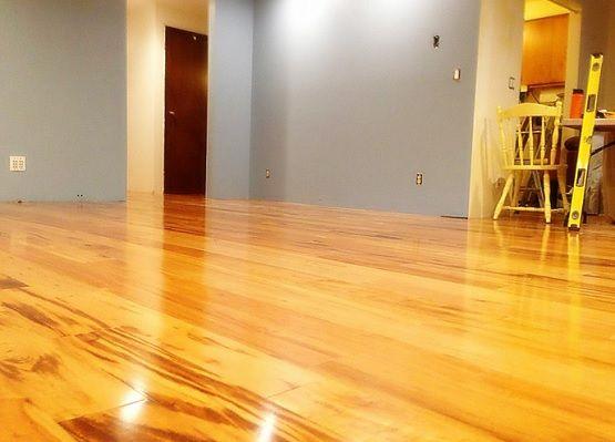 Flooring Tigerwood Planks Swiftlock Laminate
