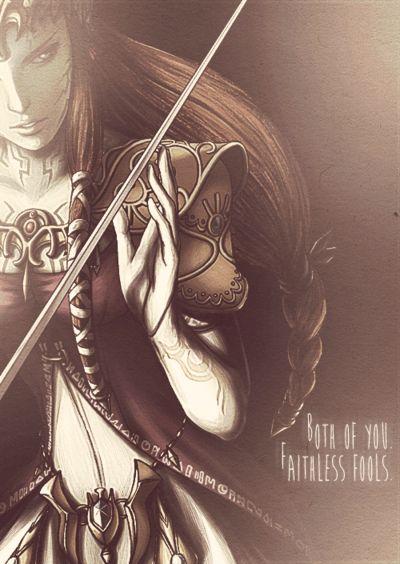 Zelda || She looks like badass here *.*