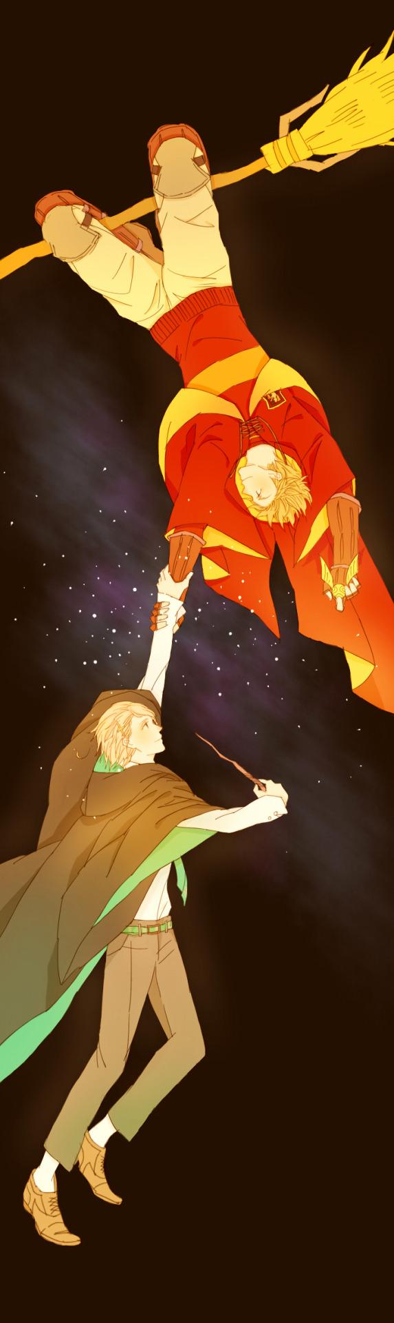 Hetalia (ヘタリア) & Harry Potter crossover - Denmark x Norway (DenNor) (デンノル)