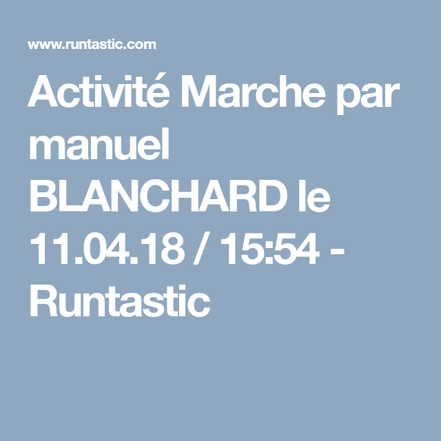 runtastic marche