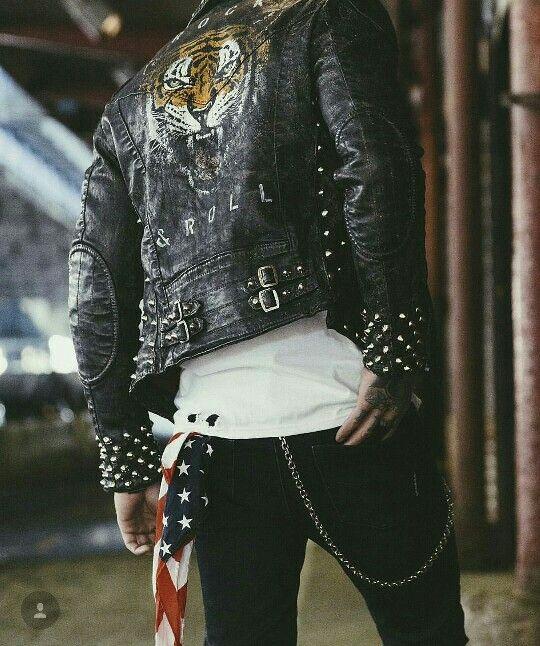 Style Boys Estilo Chicos Rock Rockeros Rocker Motero Chupas De Cuero Moda Ropa Hombre Estilo De Ropa Hombre Pantalones De Hombre Moda