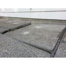 Before pictures - unlevel concrete | Concrete, Patio slabs ... on Unlevel Backyard Ideas id=26133