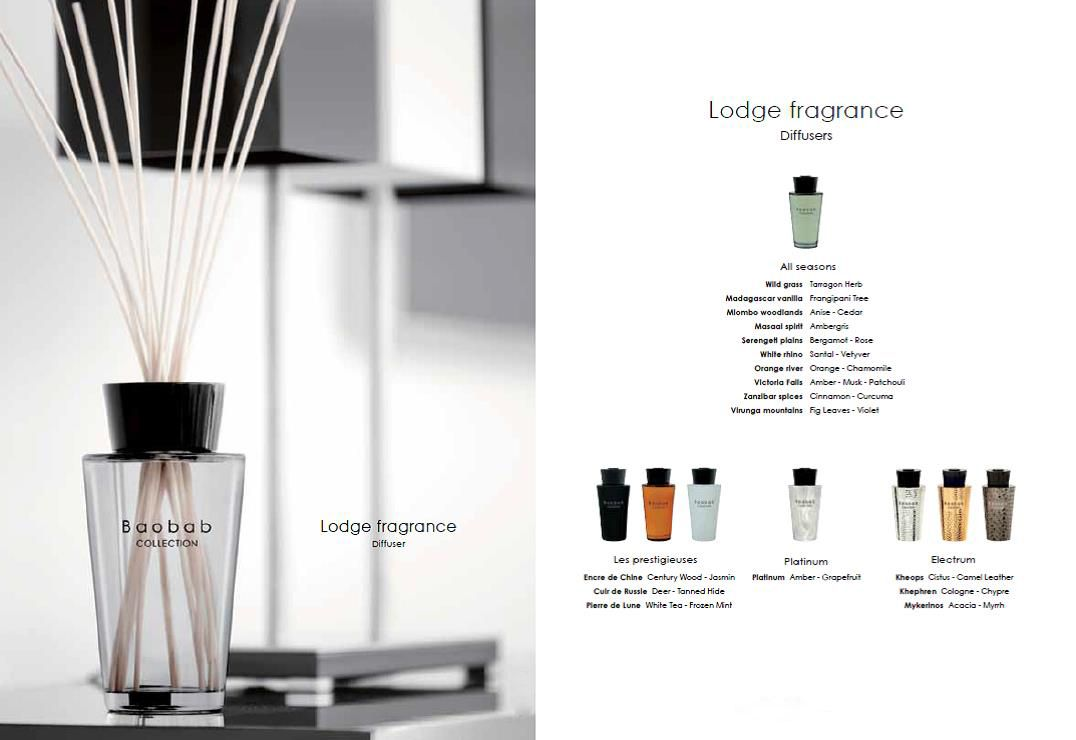 Baobab Collection - Lodge Fragrances. Deze huisparfum van ...
