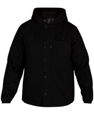 afaa73d4165 Hurley Men's Outdoor Hooded Jacket & Reviews - Coats & Jackets - Men -  Macy's