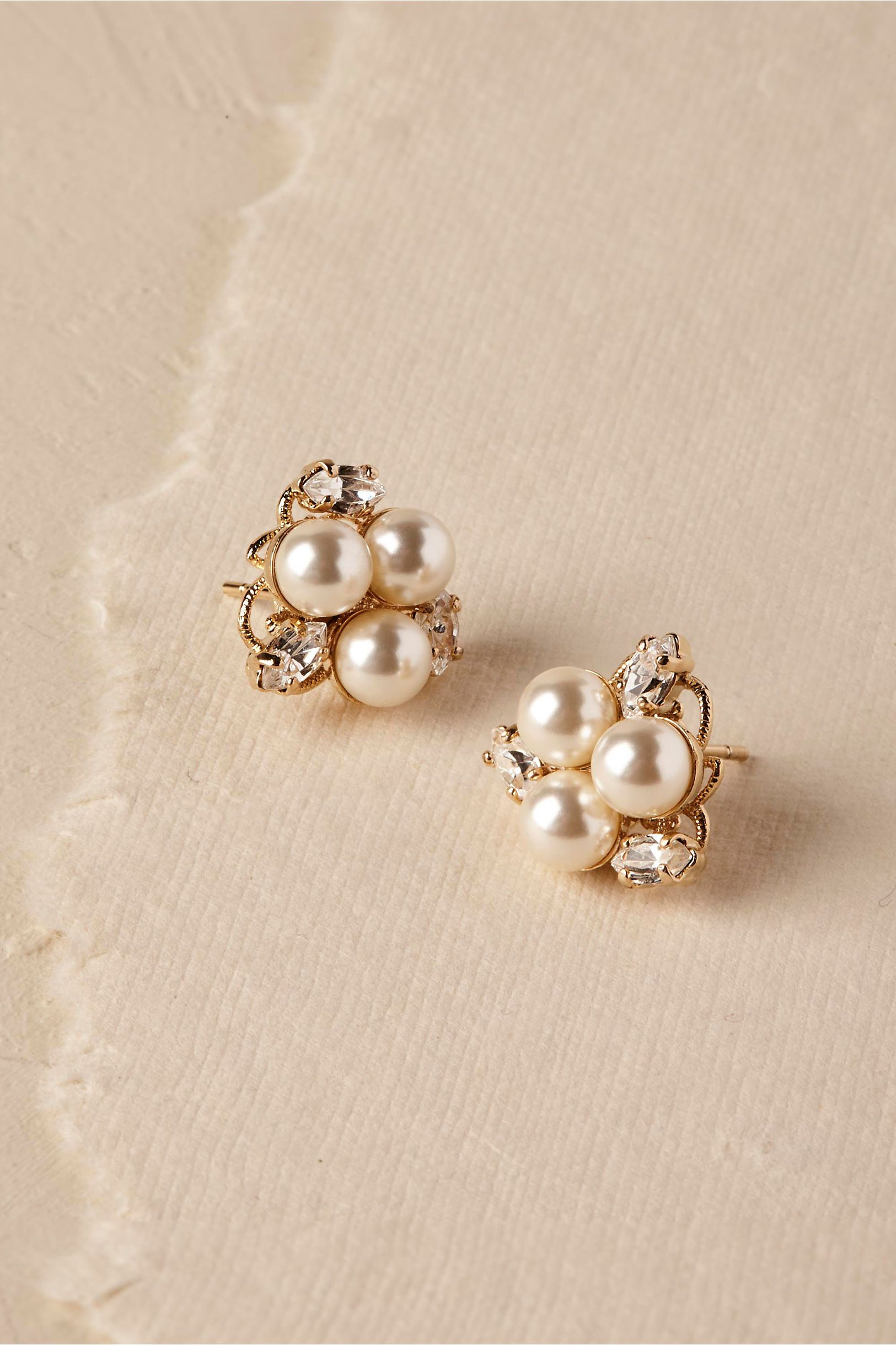lyst gold gallery faux double in jay earrings stud jewelry pearl drop metallic lane kenneth clip