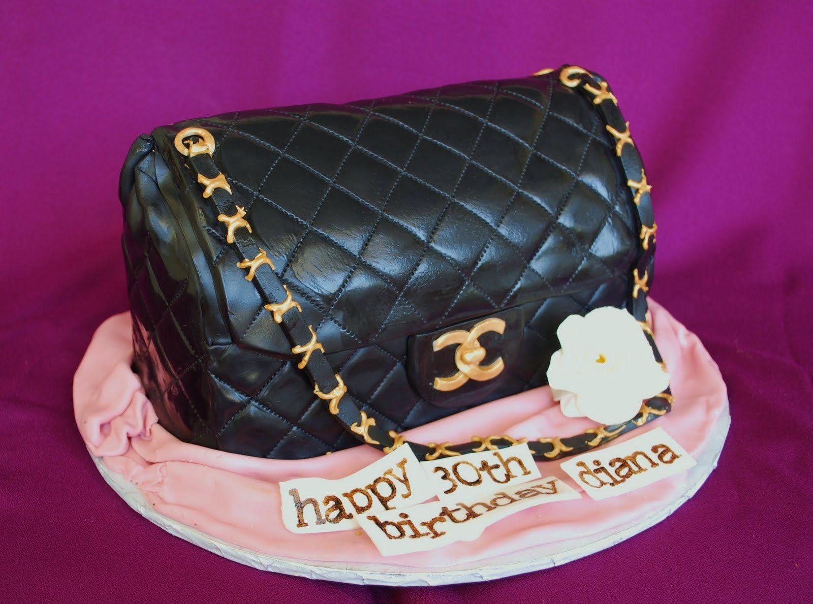 Designer Hand Bags Birthday Cakes Handbag Cakes Birthday Wishes