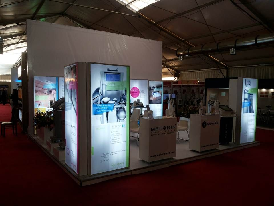 The booth of Melorin Arvin Teb at International Congress