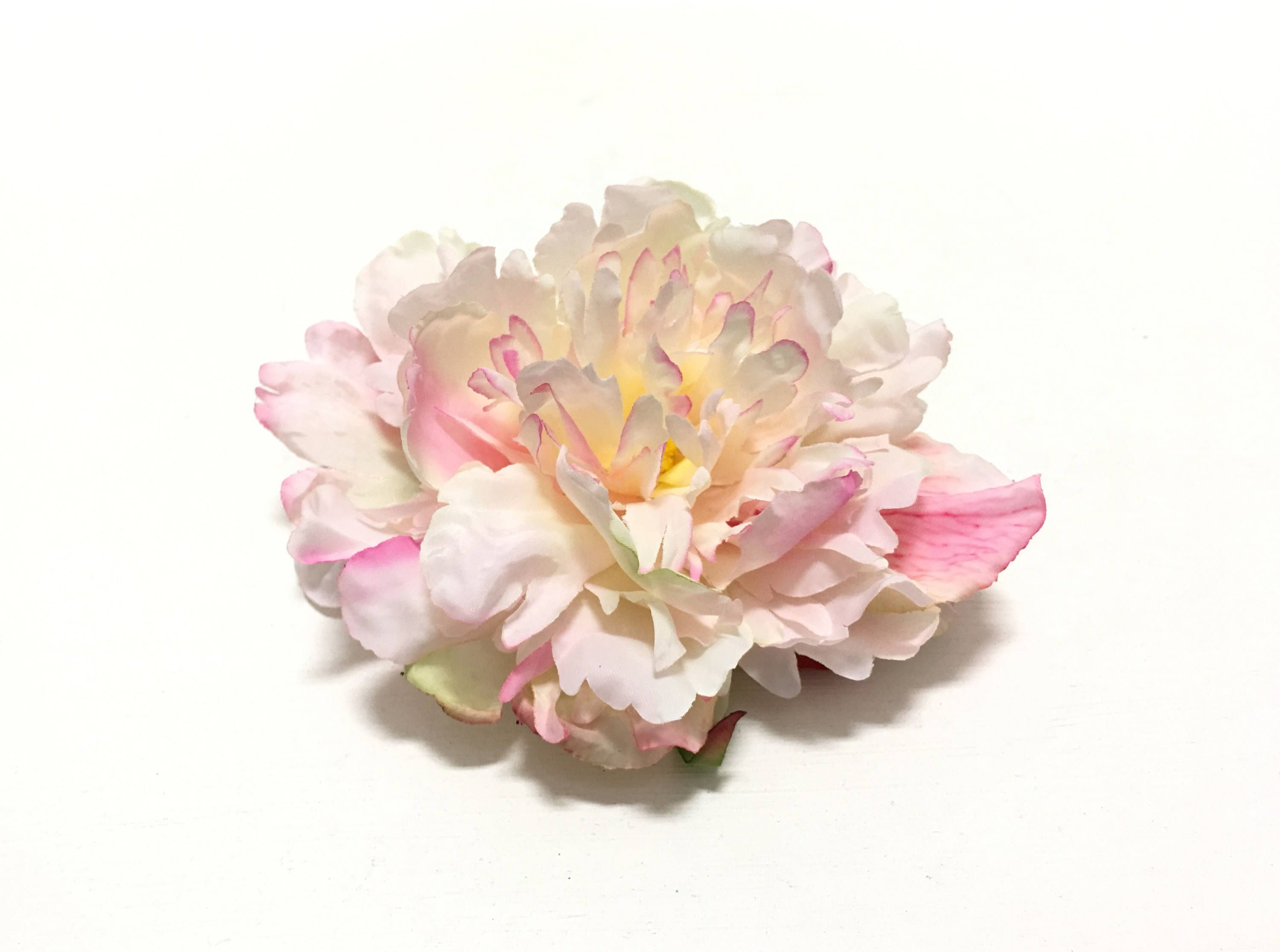 One light pink artificial peony 5 inches artificial flower silk one light pink artificial peony 5 inches artificial flower silk flowers flower mightylinksfo Gallery