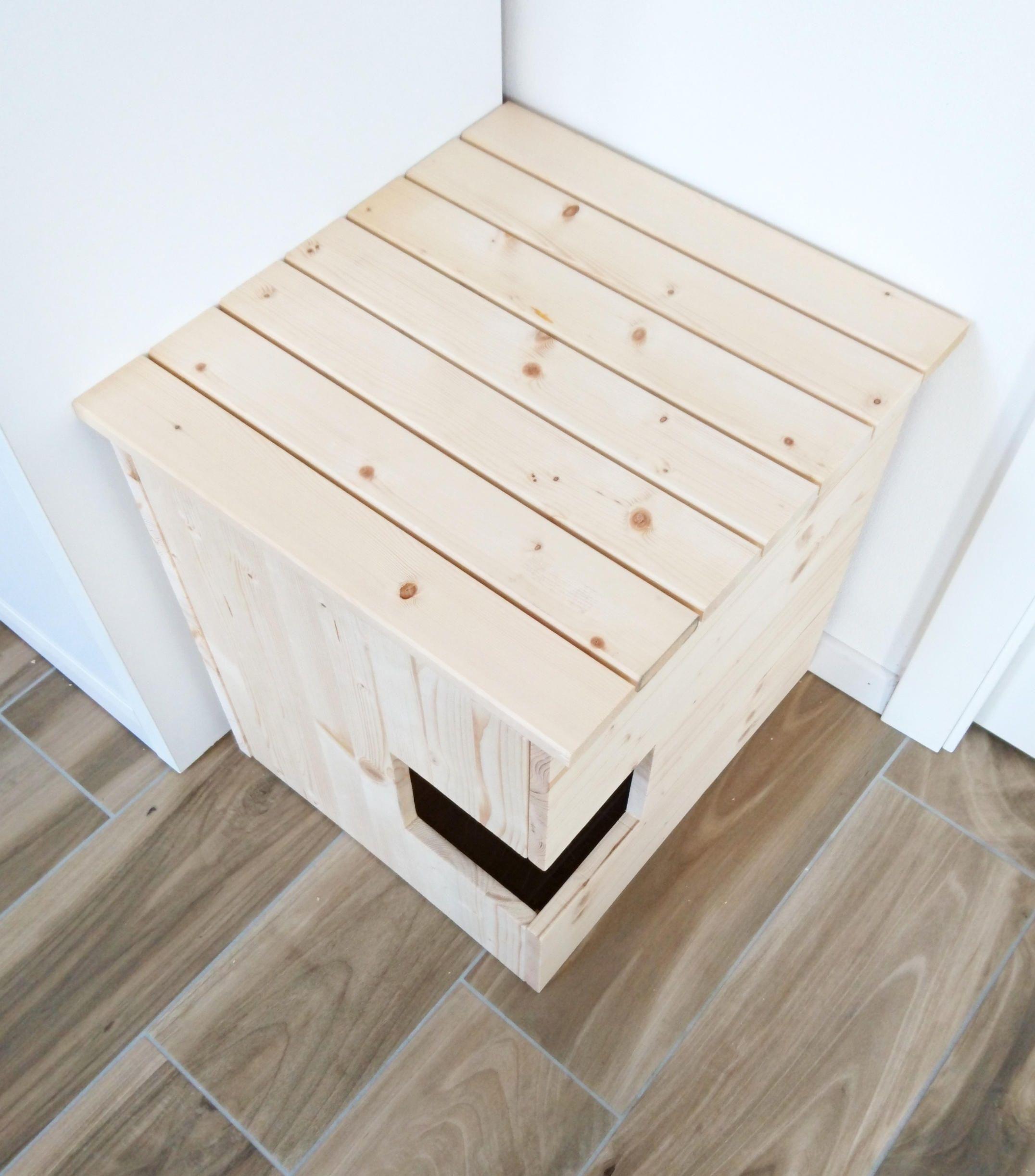Ecke Wurf Box Abdeckung Haustier Haus Katze Wurf Box Schrank