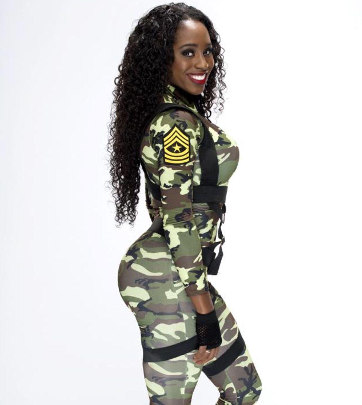 wwe divas halloween costume naomi - Soldier Girl Halloween Costume