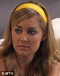 Top it off: According to MTV, LC appeared on-screen in nearly 30 headbands during her five seasons on the show