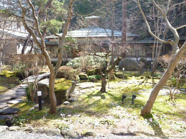 "Giardino di ""Senjukaku""(Hotel), Kanbayashi-Onsen(Terme) Nagano Japan"