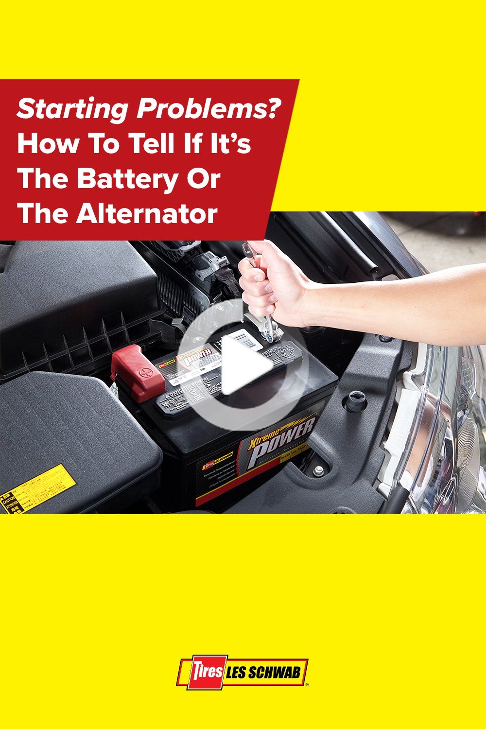 Starting Problems Is It The Battery Or Alternator In 2020 Alternator Car Battery To Tell