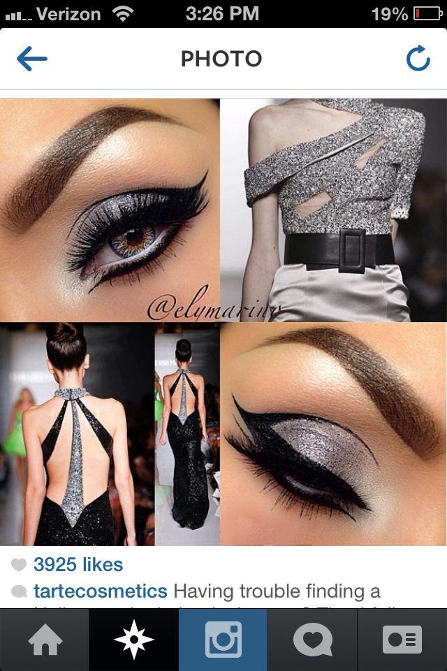 Beautiful cat eye makeup for a classy Halloween   Makeup ideas ...