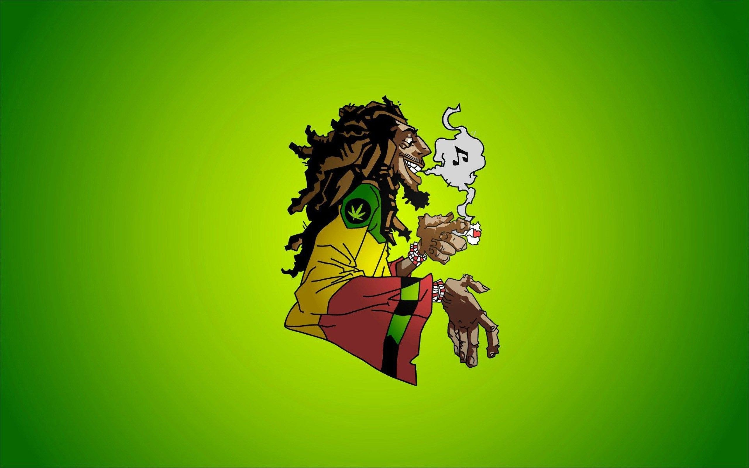 Bob Marley Cartoon Drawings Widescreen Wallpaper 2560 1600 Reggae Wallpapers Reggae Music Art Bob Marley Cartoon