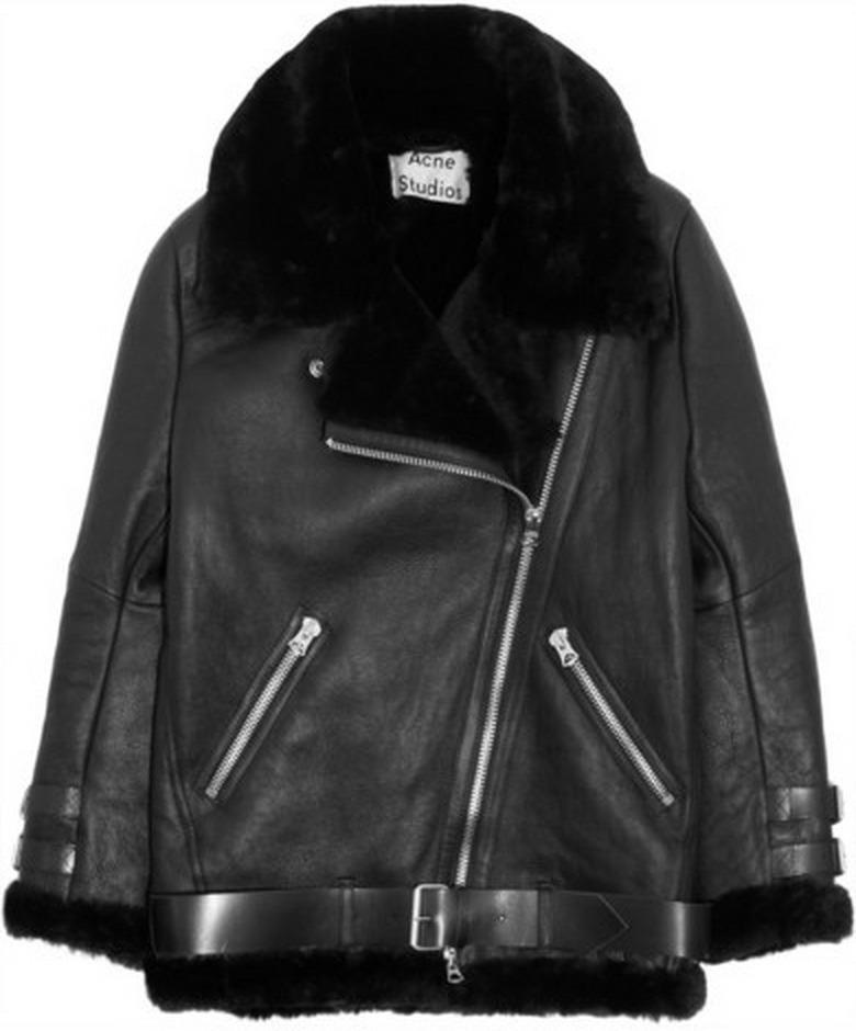 Acne Studios Velocite Jacket as seen on Keira Knightley