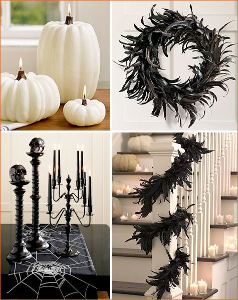 spooky chic halloween at pb