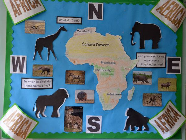 Classroom Decoration Ideas For Pre Primary School : Long ridings primary school classroom wall displays africa pbl