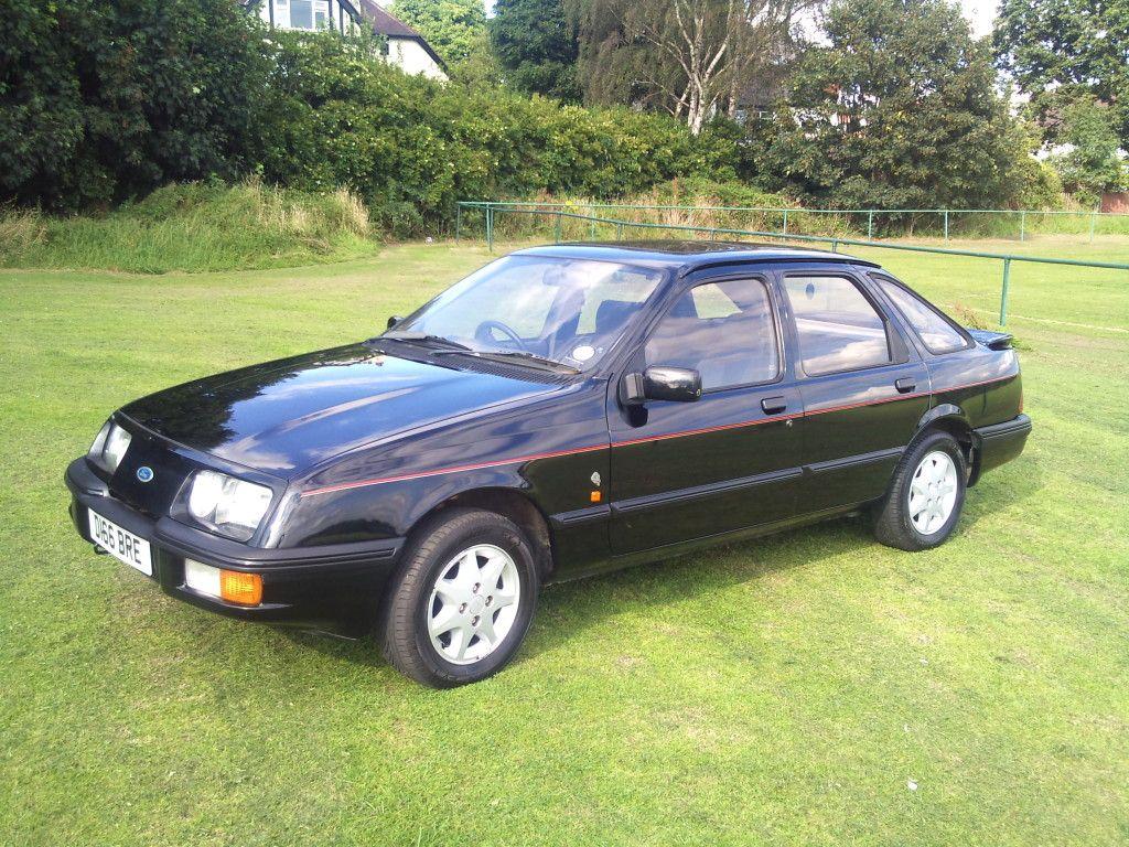 1986 Ford Sierra Mk I Xr4x4 V6 2 8 Litre Ford Sierra British