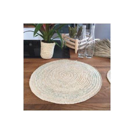 set de table en feuilles de palmier | in the kitchen | pinterest