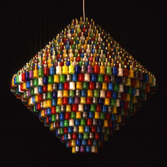 recycled lighting. Stuart Haygarth\u0027s Recycled Lighting Design E