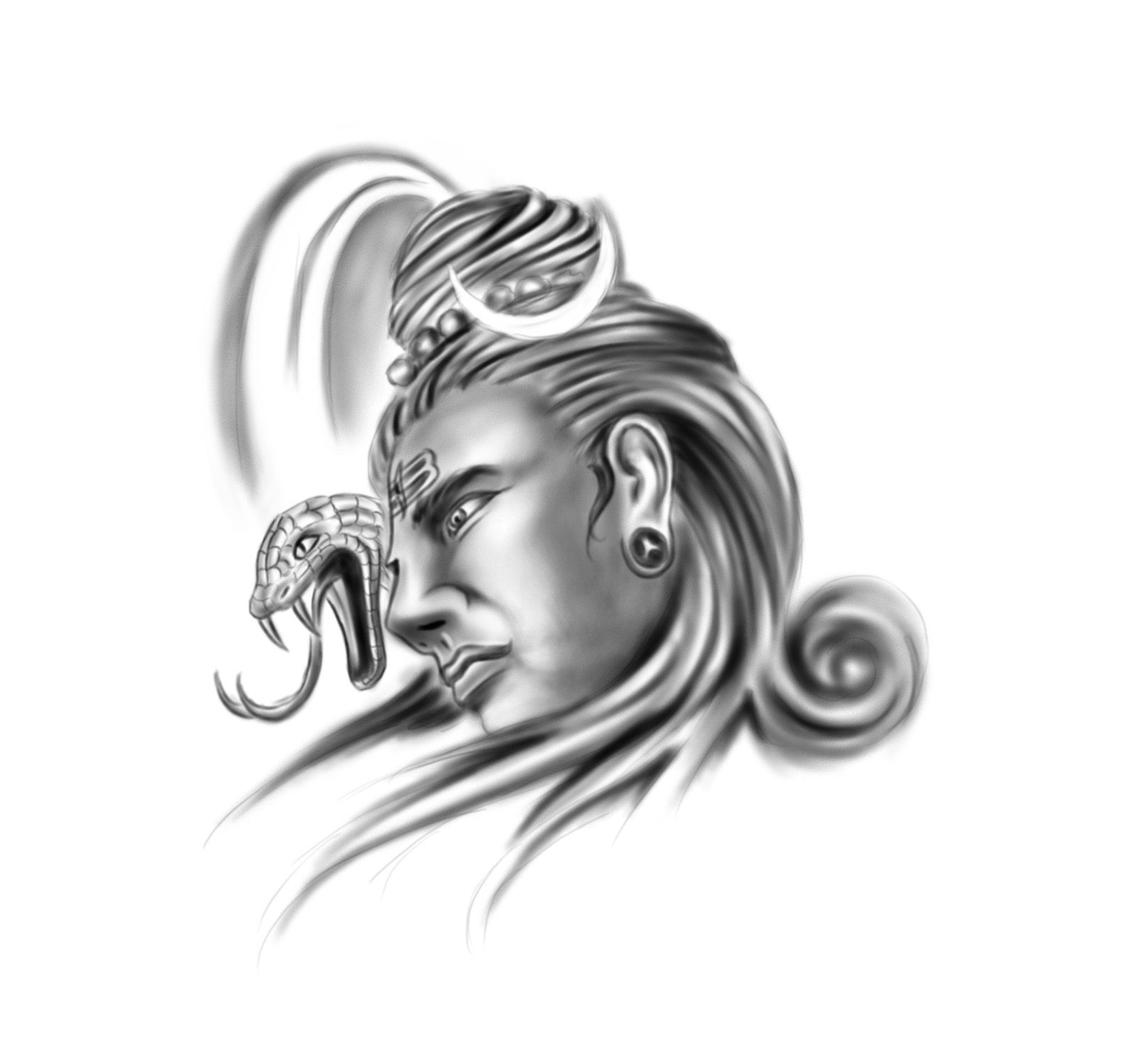 Tattoo Designs God Shiva: Tattoo Concept Artwork