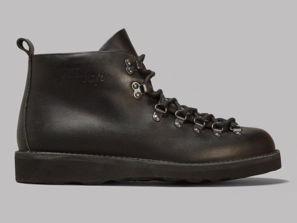 99fca5961d6 Fracap Scarponcini M120 Boots (Black) | SHOES | Boots, Mens winter ...