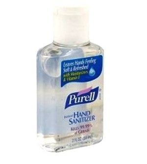 Reviving The Unconscious With Purell Hand Sanitizer Ink Pads Hands