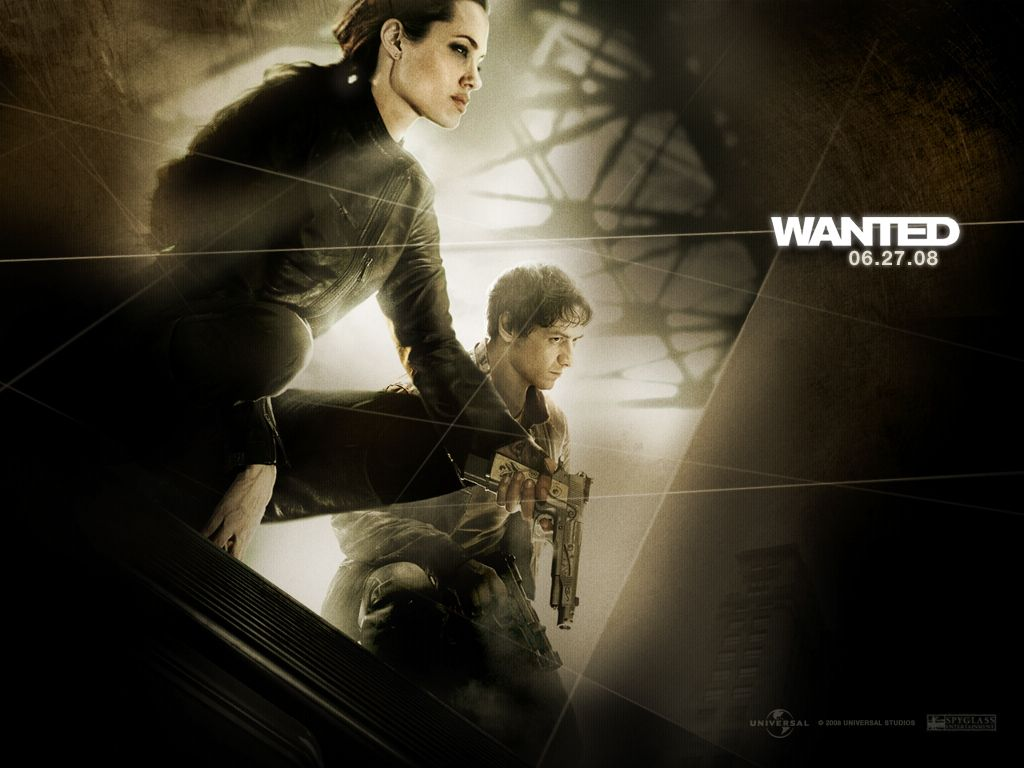 Wanted Movie Window 7 Hd Wallpaper Wanted Hollywood Movie Hd Wallpaper Angelina Jolie Actrice Cinema