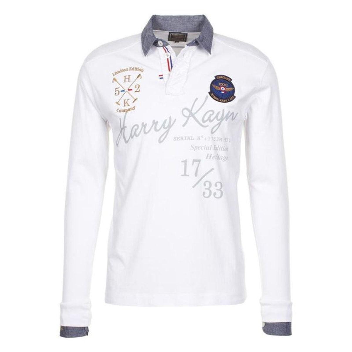 Harry Kayn polo Homme Cazbi Blanc Taille : L;XXL;XL