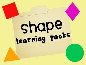 printable shape activities