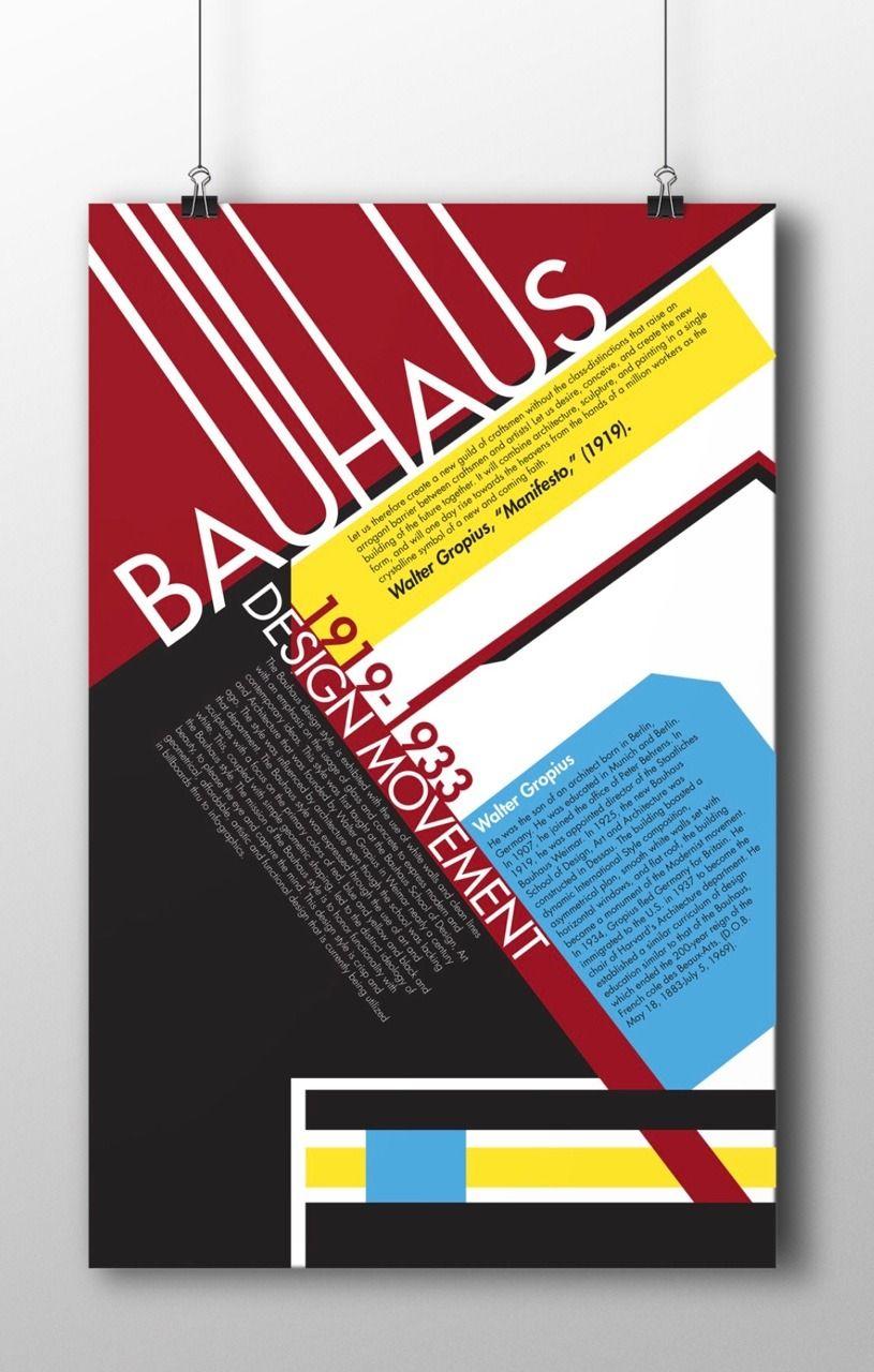 Bauhaus Poster Futura Typo C Cody Reeves Bauhaus Bauhaus Poster