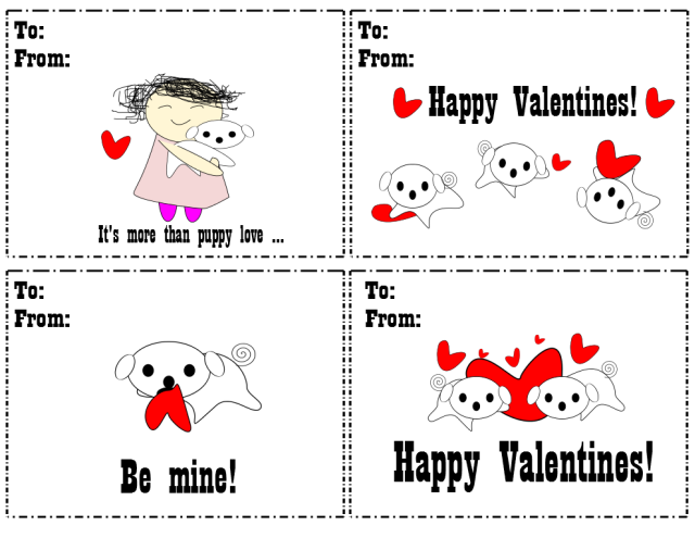 Cute Free Printable Puppy Valentine S Day Cards Valentine Day Cards Puppy Valentines Valentines Cards